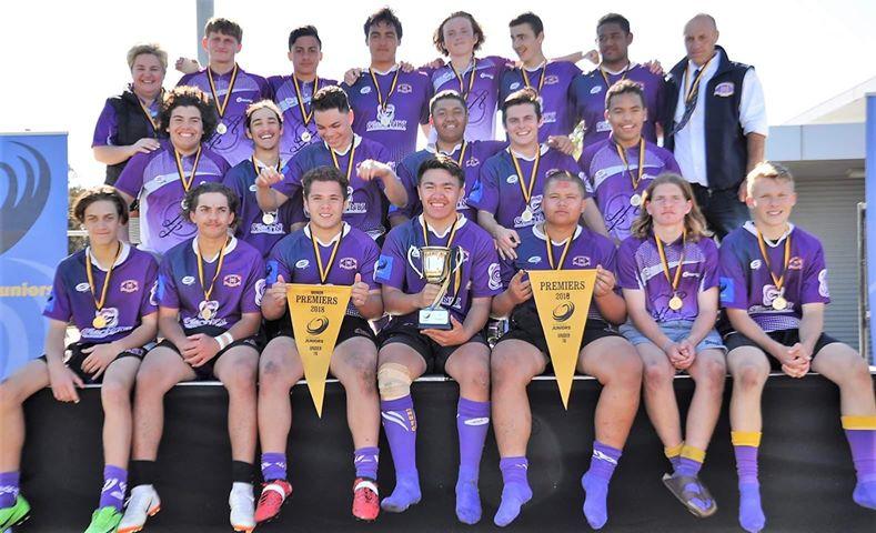 The Rockingham Rugby Union Football Club Under 16 Premiership team.