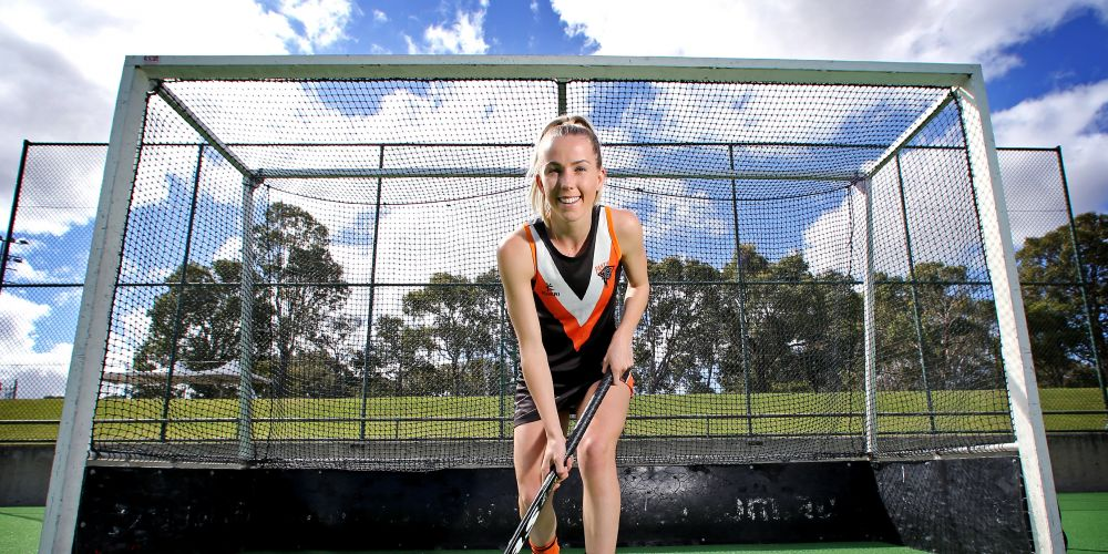 Renee Rockliff (19) of Victoria Park has been selected for Australia's under-23 development squad to play in China. Picture: David Baylis