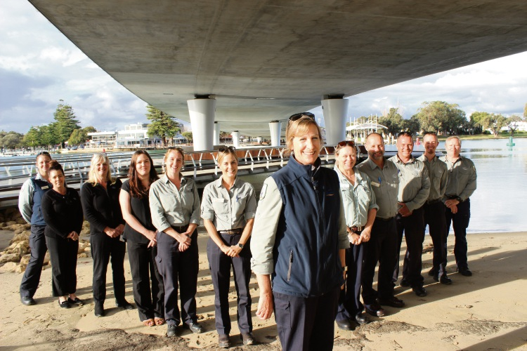 City of Mandurah's award-winning rangers.