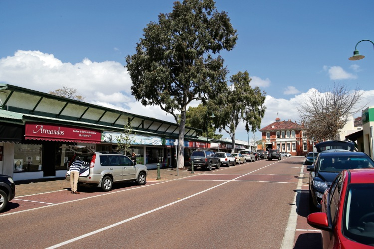 The Swan Chamber of Commerce is proposing to develop an Asia Town along The Crescent between Helena St and roundabout on Keane St. Photo: David Baylis