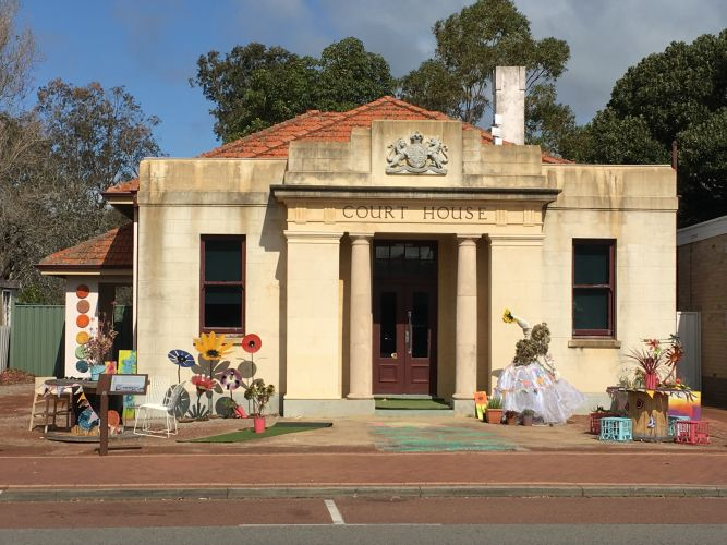 The Pinjarra courthouse will be used by the community.
