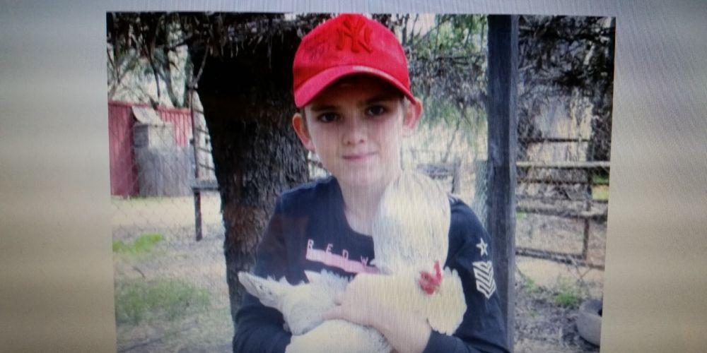 Missing 12-year-old boy Joshua.