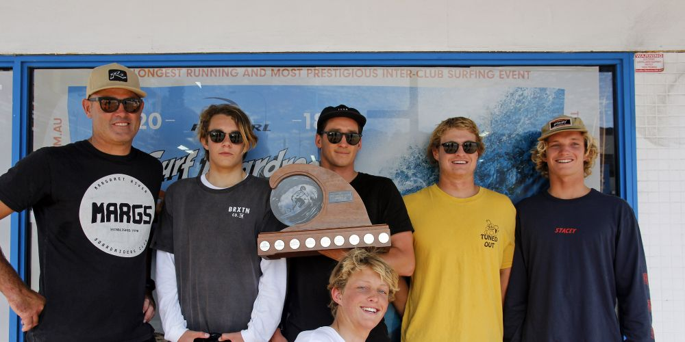 The winning Margaret River team