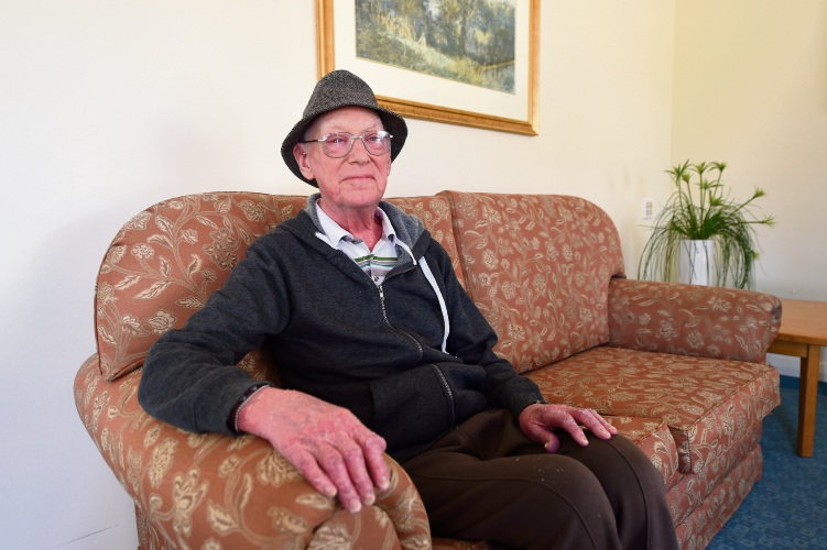 Richard Heraty is one of many seniors who celebrate International Day of Older Persons today.