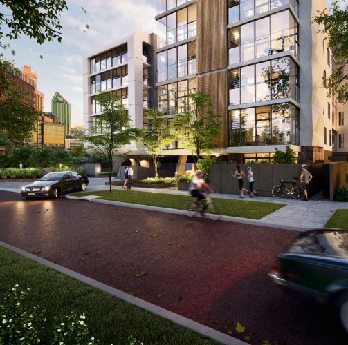 An artist's impression of the Camilla Residences development.