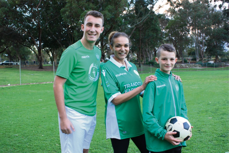 Alexander Damianopolous (18), Cowan MHR Anne Aly and Blake White (11).