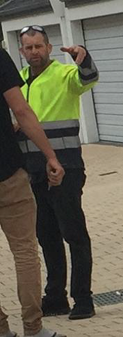 police want to speak to the man pictured about the incident.