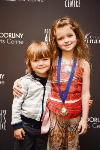 Seth (4) and Mila Dingle (7).