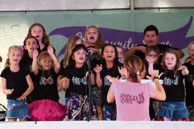 Choirs4kids will start classes in Joondalup on October 13.