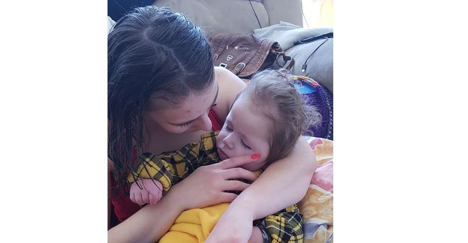 Nathaniel was not expected to live after he suffered a catastrophic brain bleed at six weeks old.