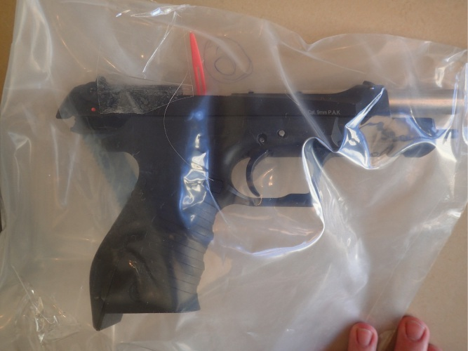 One of the firerarms found. Photo: WA Police