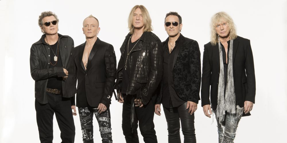 Def Leppard. Picture: Kazuyo Horie.