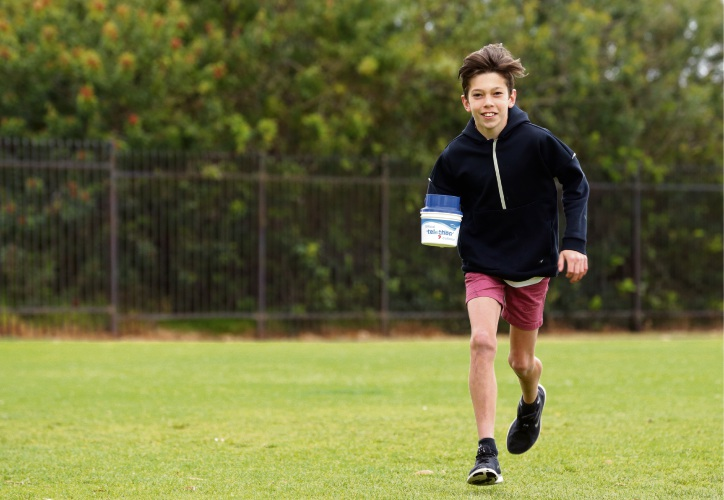 Dylan Moyses is walking 40km for Telethon