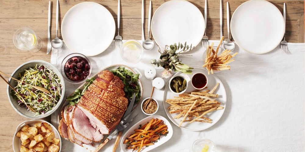 Get ready to pig out on Coles' traditional ham with crispy crackling this festive season.
