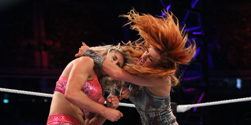 Becky Lynch remains Women's Champion against Charlotte Flair in controversial match  -- Picture WWE