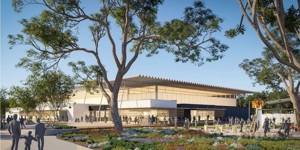 An artist's impression of the Baldivis District Sporting Complex
