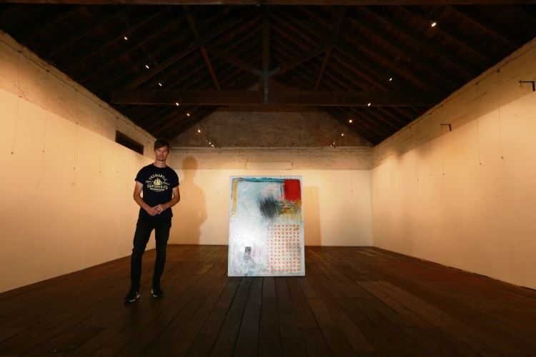 David Spencer will have work featured in the Undercurrent exhibition. Photo: Andrew Richie d487515 communitypix.com.au