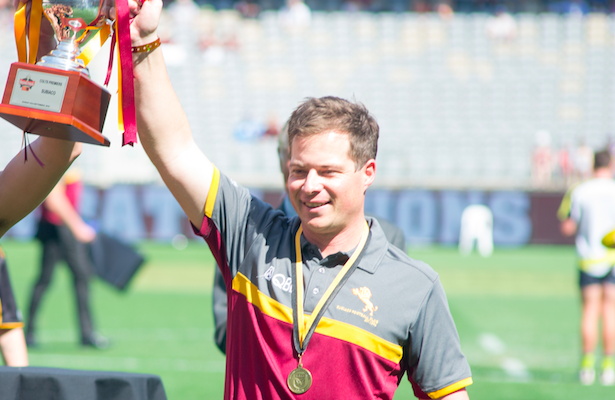 Beau Wardman led Subiaco's colts to a premiership this season. Picture: Subiaco Football Club