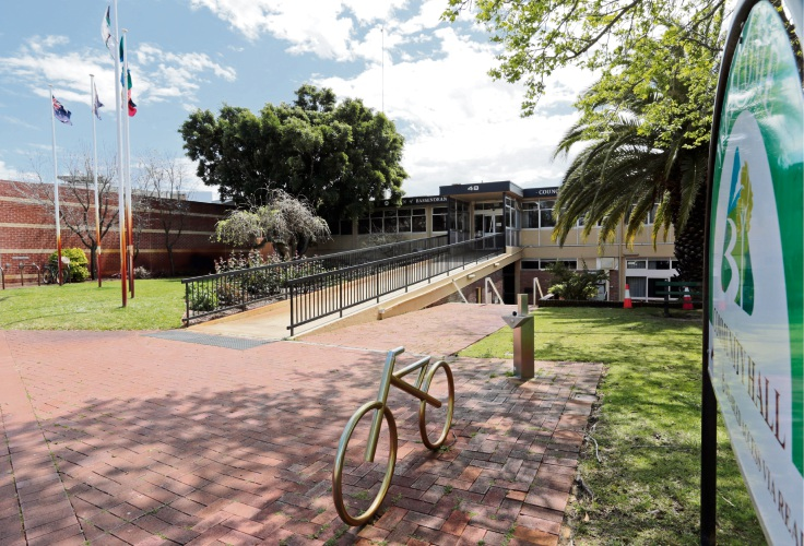 Town of Bassendean administration building. Picture: David Baylis.