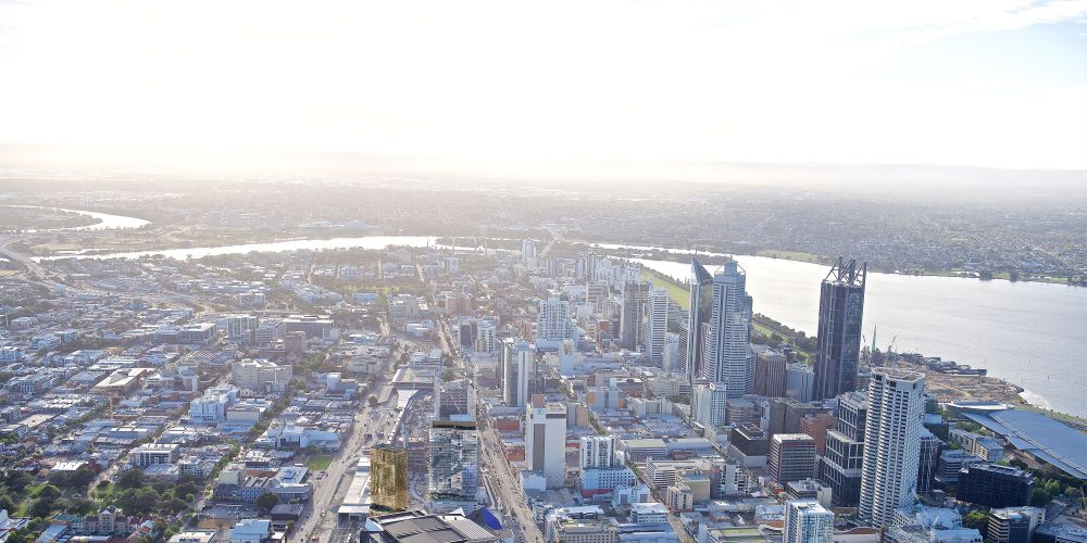 A $300m development proposed for between Yagan Square and RAC Arena.