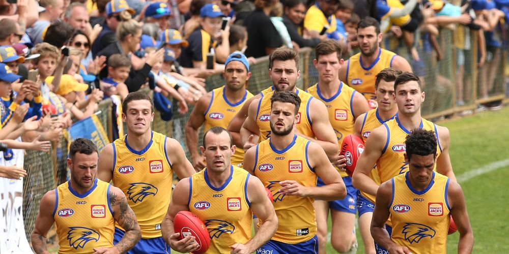 The Eagles will make next year's WAFL season a 10-team competition. Picture: Paul Kane