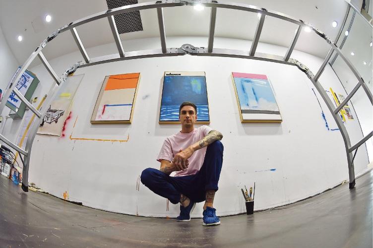 West Leederville artist Sam Bloor has been handpicked for Heathcote Select. Picture: Jon Hewson.