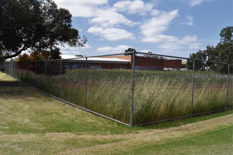 A 'derelict' area of Wotton Reserve in Embleton that could be rezoned.