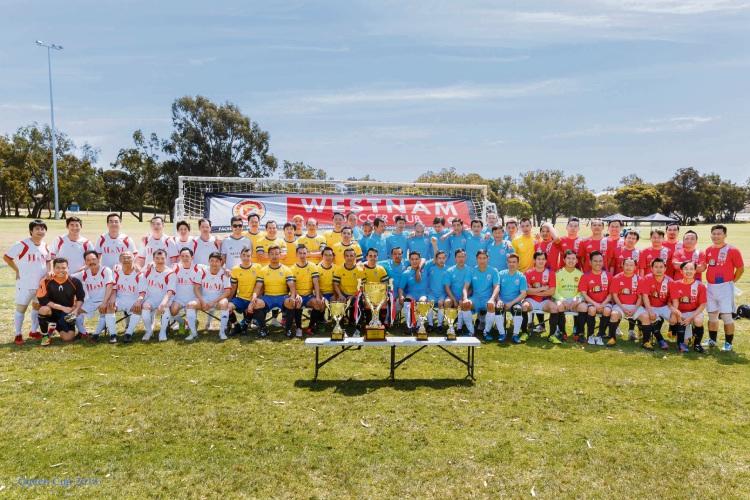 Westnam United Soccer Club has about 300 members.