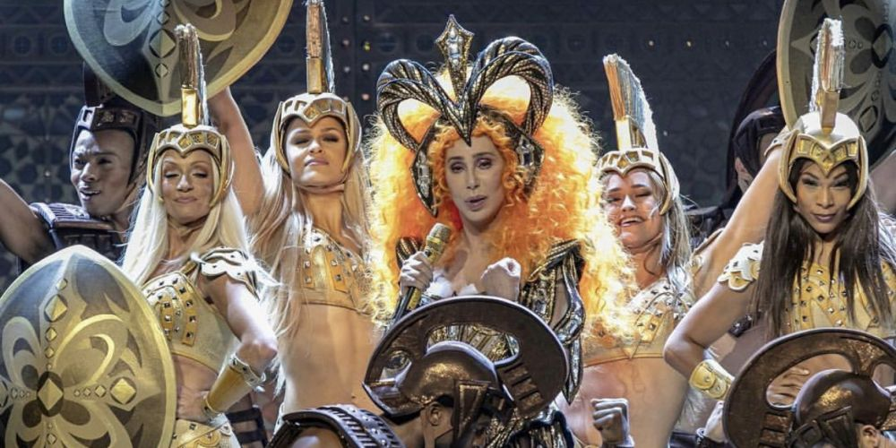 Cher entertained the audience at RAC Arena as part of her Here We Go Again Tour. Pictures: Kelly Pilgrim-Byrnes.