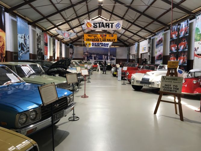 York Motor Museum's collection includes 56 cars.