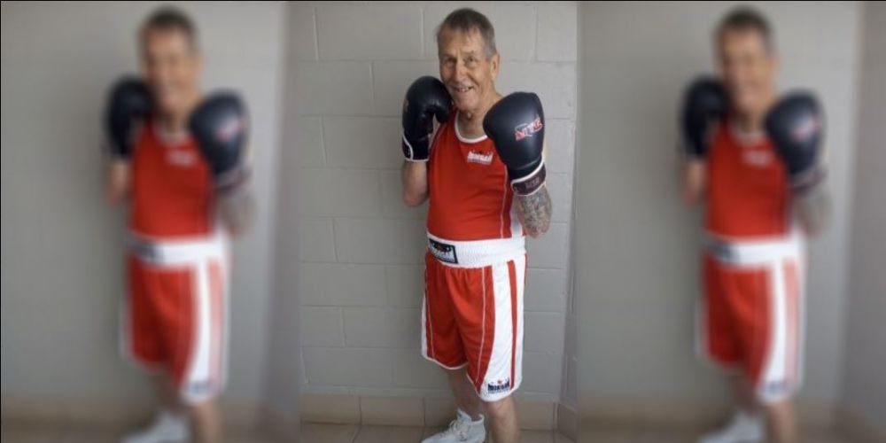 "Sawyers Valley boxer Bob ""Uncle"" Humphreys (72)"