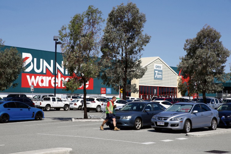 Bunnings Malaga is one of the largest warehouses on Marshall Road. Picture: Martin Kennealey