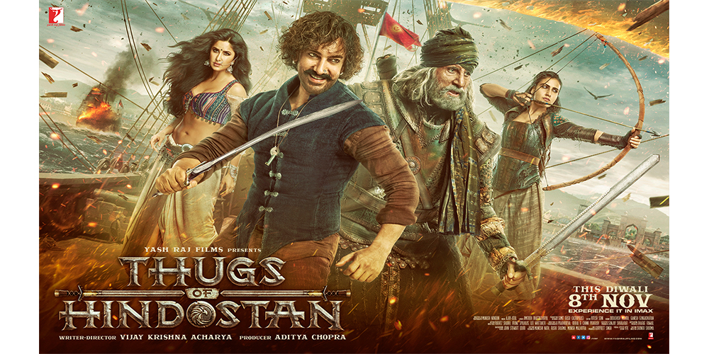 Win tickets to Thugs of Hindostan