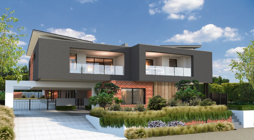 An artist's impression of one of the apartments. Picture: JAM Building Design