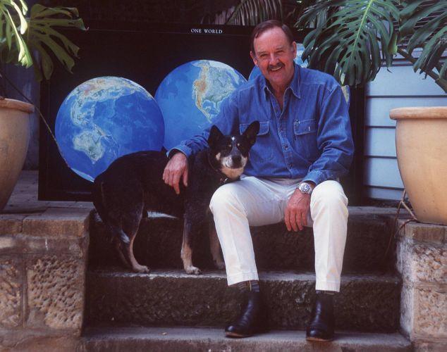 SYDNEY, AUSTRALIA - APRIL 1995: Ian Kiernan, Organiser of