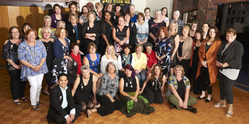 Nurses who received the WA Nurses Medal.