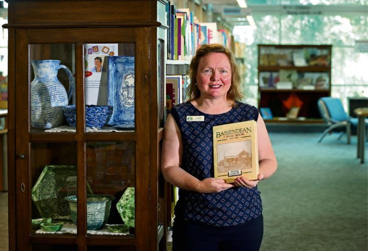 Local Studies librarian Janet Megarrity. Picture: David Baylis