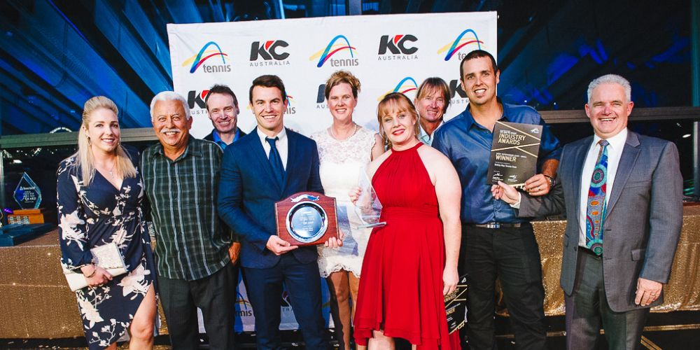 Two wins for Safety Bay Tennis Club at WA Tennis Industry Awards