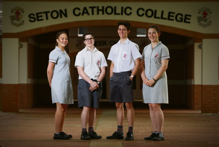 Olivia Zlendic (y11), Flynn McKenzie (y10), Callum Phillips (y11) and Sontje Mangan (y10) will be heading to Thailand in December.