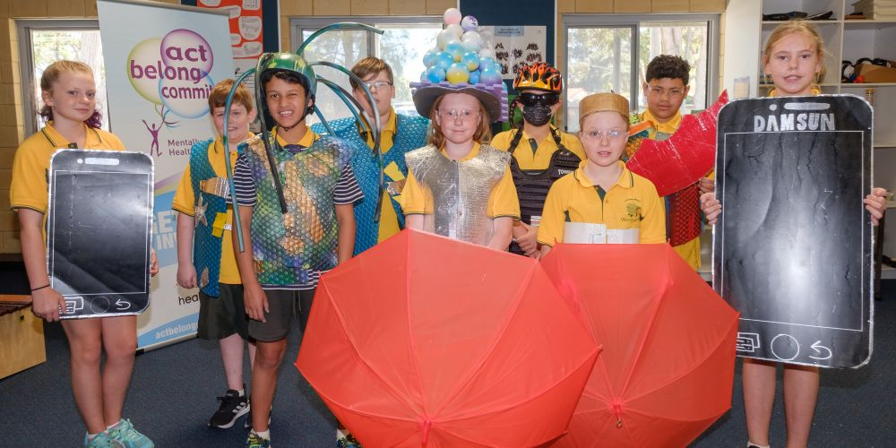 Woodlupine Primary School's 'train of thought'.
