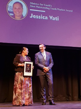 Mandurah woman wins Most Outstanding Youth Worker