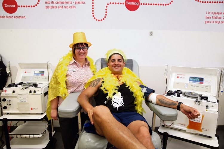 Edgewater Blood Donor Centre hosts drive for plasma donations
