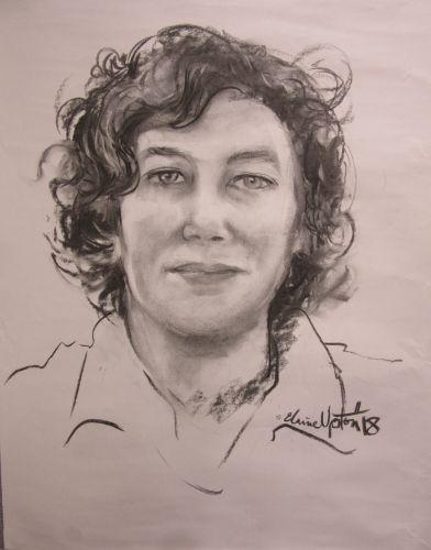 An Elaine Upton portrait.