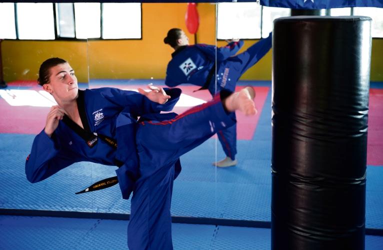 Freestyle taekwondo: Ballajura athlete Hadley Rachbind (17) sets sights on world championships in 2020
