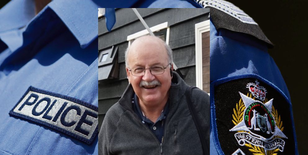 Police are concerned for the welfare of missing man James Lawrence (68).