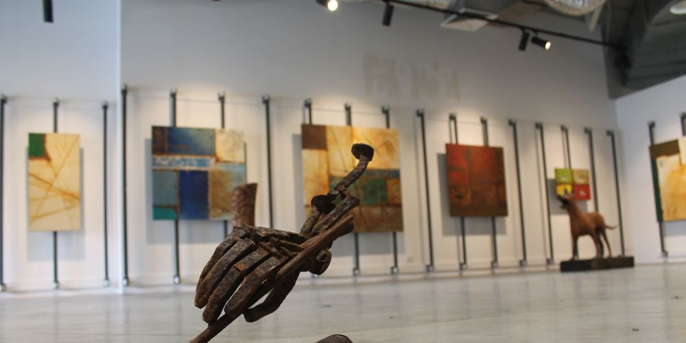 """Roadside"" artworks by Richard Aitken Sculptor"