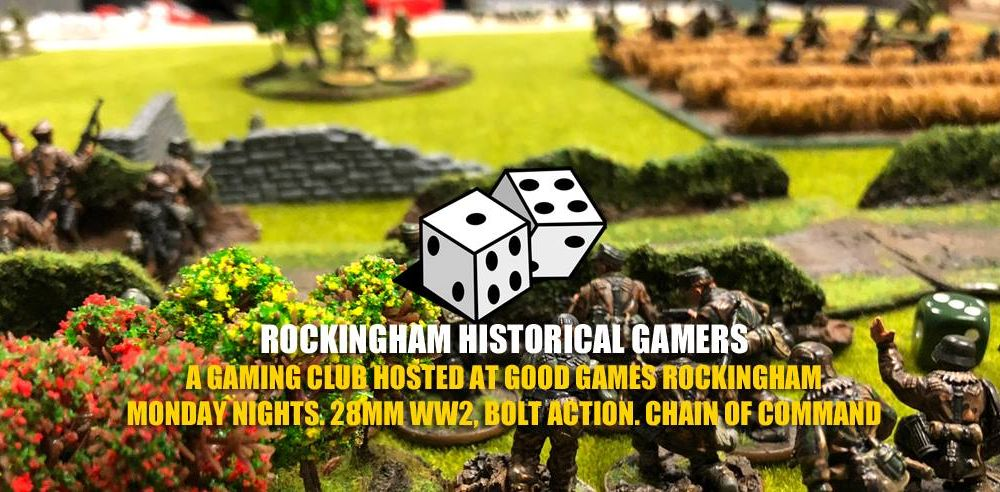 Rockingham Historical Gamers Painting Competition
