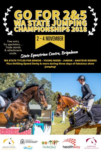 Go for 2&5 WA State Jumping Championships