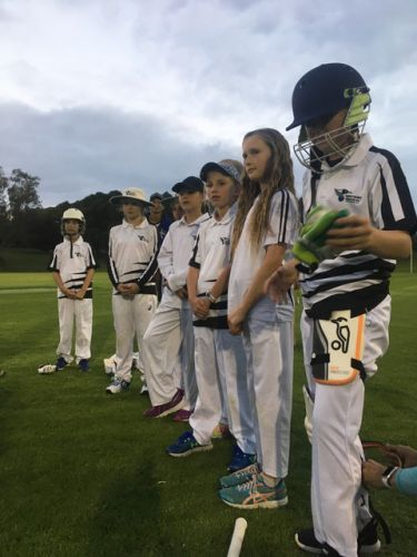 Wembley Districts teams faced off in the first Under-11 Girls Cricket Competition