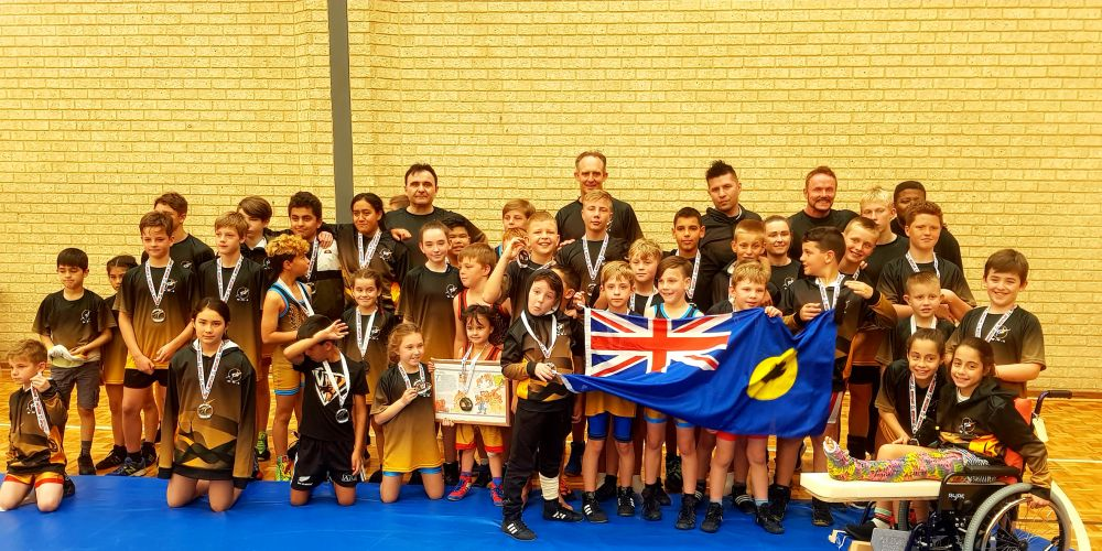 Gladiator Wrestling athletes brought home medals from the National Youth Wrestling Championships.